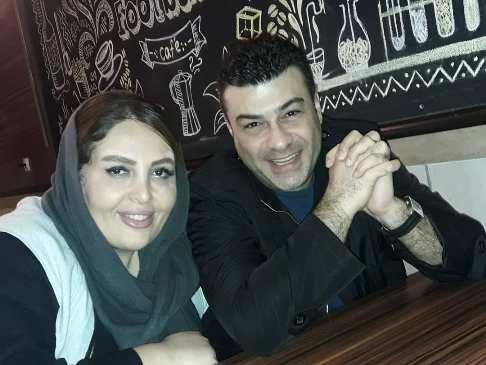 تبریک عاشقانه گوینده خبر به همسرش! +عکس