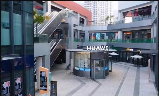 هوآوی اولین فروشگاه بدون فروشنده و رباتیک خود را افتتاح کرد