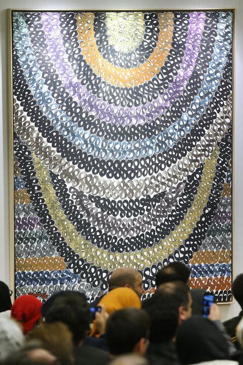 گرانترین تابلو حراج تهران، چرا ۳میلیاردی شد؟