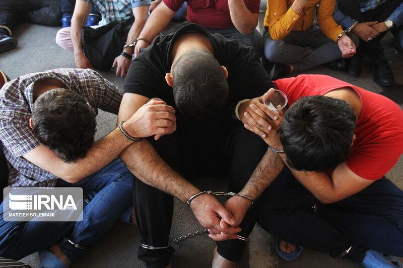 دستگیری سارقان مسلح در اهواز