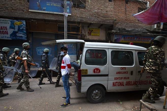 تماشای کشتار مسلمانان در هند