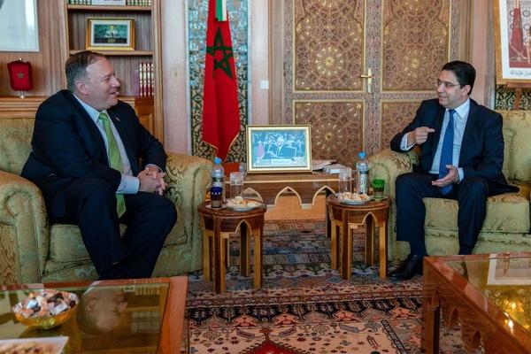 گفتوگوی وزرای خارجه آمریکا و مراکش درباره ایران