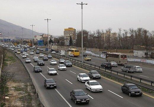 کدام خیابانها صبح امروز پرترافیکترین خیابانهای تهران بودند؟