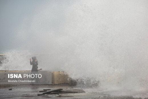 هشدار سازمان هواشناسی/ بارش شدید و افزایش ارتفاع موج در این مناطق کشور