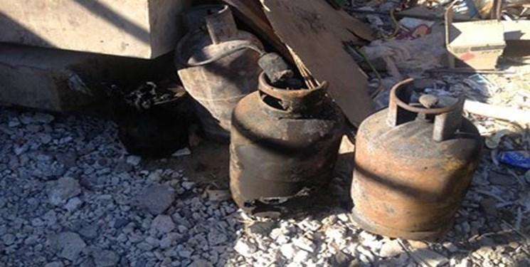 انفجار کپسول گاز در کانکس با 3 کشته و زخمی
