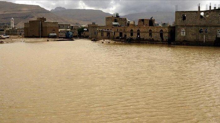 سیل جان 17 نفر در یمن را گرفت