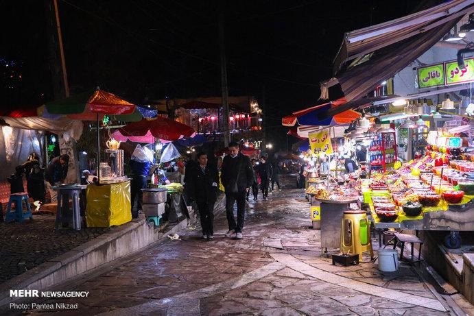 """تصاویر  وضعیت """"دربند"""" تهران در اوج کرونا"""