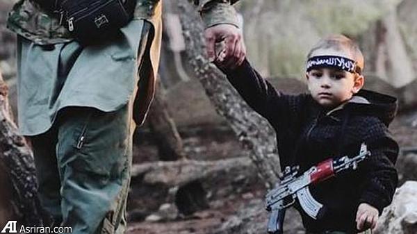 25795 906 کوچکترین عضو داعش + تصویر