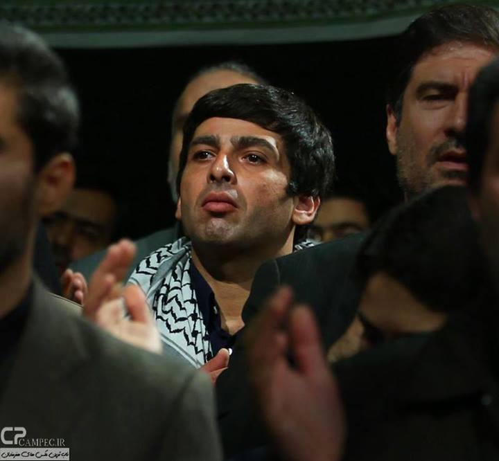 22769 624 بازیگران،ورزشکاران و چهره های معروف در مراسم عزاداری امام حسین(ع)