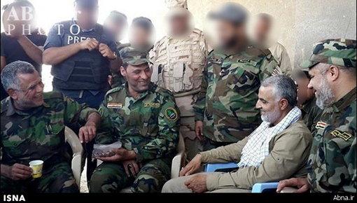 عکس قاسم سلیمانی عراق فیلم مثلث مرگ