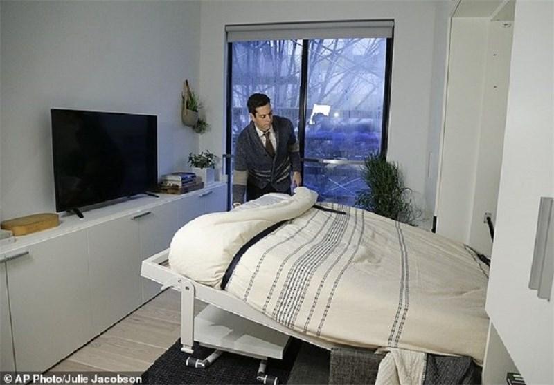 آپارتمانهای24متری در نیویورک/تصاویر
