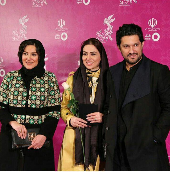 تیپ بازیگران در افتتاحیه جشنواره فیلم فجر/ تصاویر