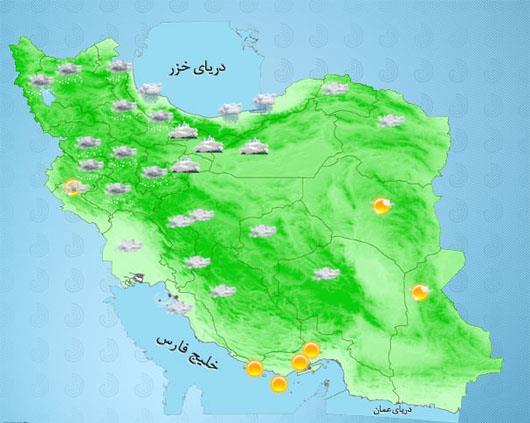 تهران بازهم سفید شد