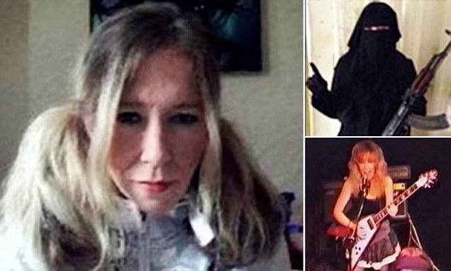خواننده معروف انگلیسی، بانوی نمونه داعش شد +عکس