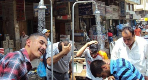 اعلام تعطیلی 2 روزه در عراق به دلیل گرمای هوا+عکس