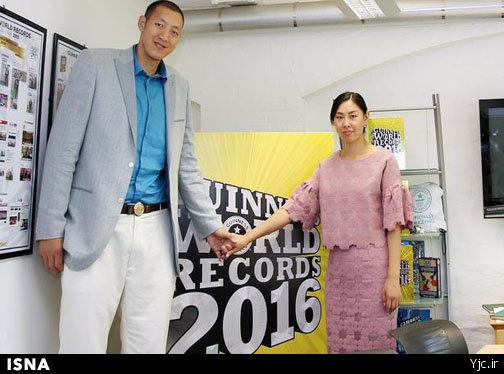 با قدبلندترین زوج دنیا آشنا شوید + عکس