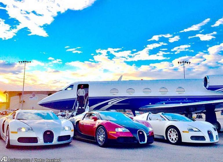 صاحب گران ترین خودروی جهان +عکس