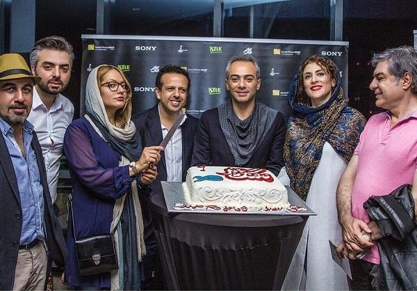 مهناز افشار، رضا عطاران، ویشکا آسایش و سامان مقدم در آلمان+تصویر
