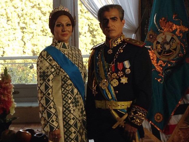 تصاویری از مهراوه شریفی نیا، حدیث فولادوند و ساغر عزیزی در نقش همسران شاه