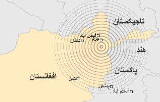 زمینلرزه حدود 8 ریشتری در کشور همسایه ایران+تصاویر