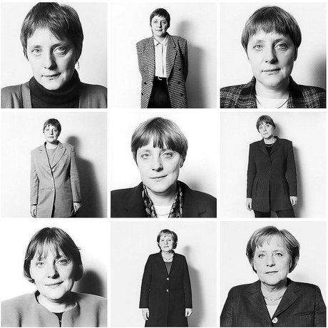 دو عکس جالب از قدرتمندترین زن دنیا