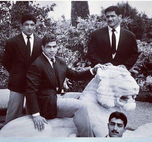 این 4 مرد و سرنوشت عجیبشان/تختی و فردین 61 سال قبل+تصویر