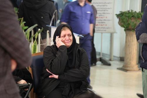 اشکهای فریده شجاعی برای همسرش+تصویر