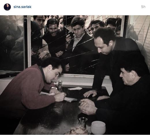 تصویری از محمدرضا شجریان بعد از زلزله بم