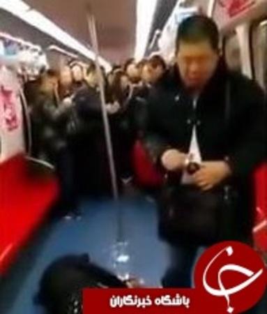 خودکشی دسته جمعی در متروی پکن! +تصاویر