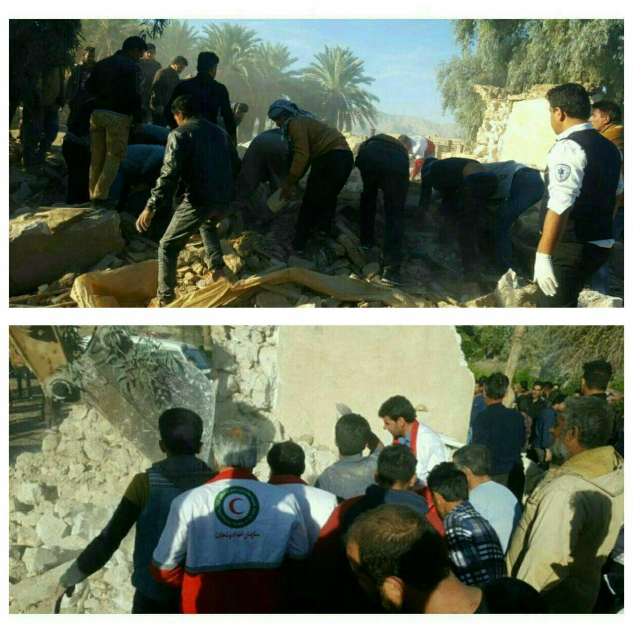 زلزله در استان فارس/5 نفر کشته و زخمی شدند/ افزایش مصدومان/ قطعی برق منطقه+تصاویر