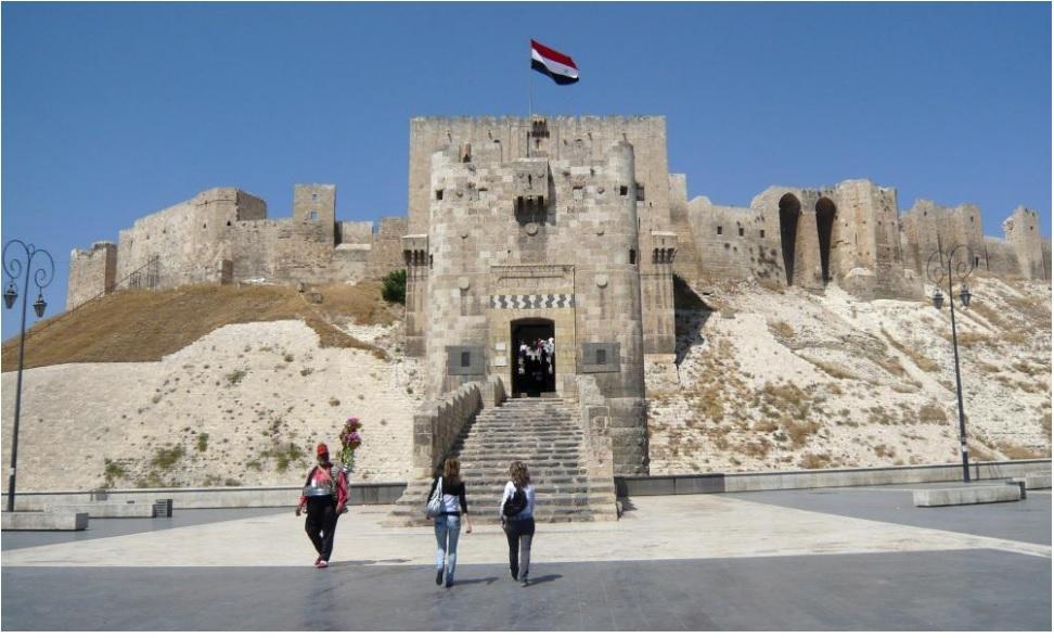 «حلب» قبل و پس از ویرانی بر اثر جنگ را ببینید+تصاویر