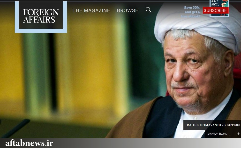 بار سنگین رسالت ایت الله هاشمی بر دوش روحانی