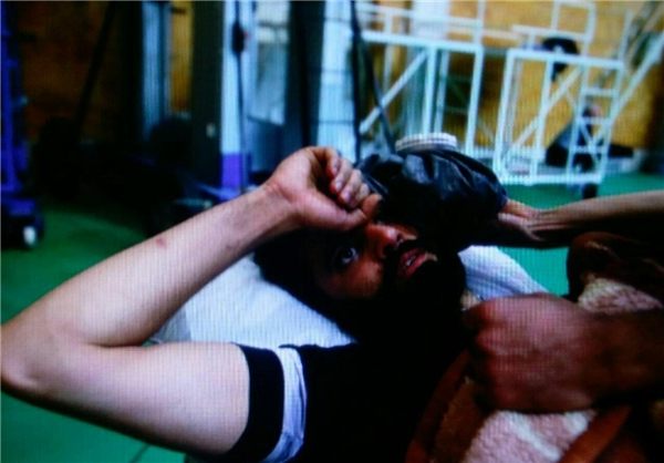ملیپوش والیبال ایران راهی بیمارستان شد+عکس