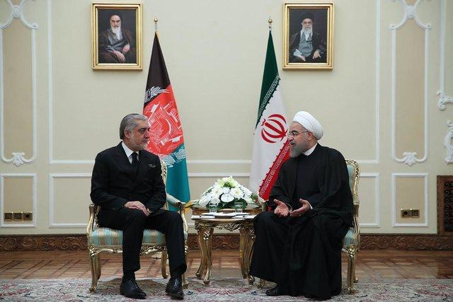 روحانی: ایران از هیچ تلاشی برای کمک به ملت و دولت افغانستان دریغ نخواهد کرد