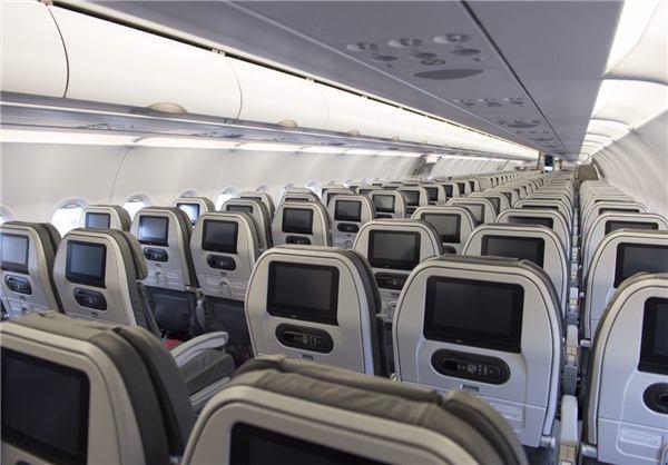 تصویر/ فرود اولين ايرباس در فرودگاه مهرآباد