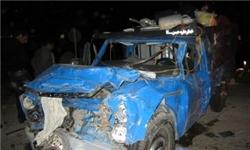 تصادف 2 خودرو در جاده همدان/ 3 کشته و 2 زخمی