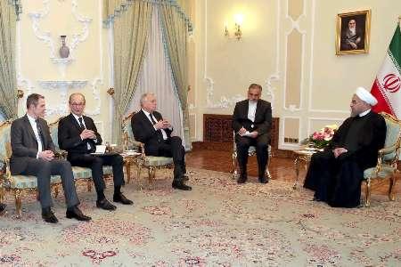 روحانی: ایران از گسترش روابط با فرانسه استقبال میکند/ پیام برجام برای جهان مهمتر از متن آن بود/ژانمارکارو: همه باید از برجام مراقبت کنند