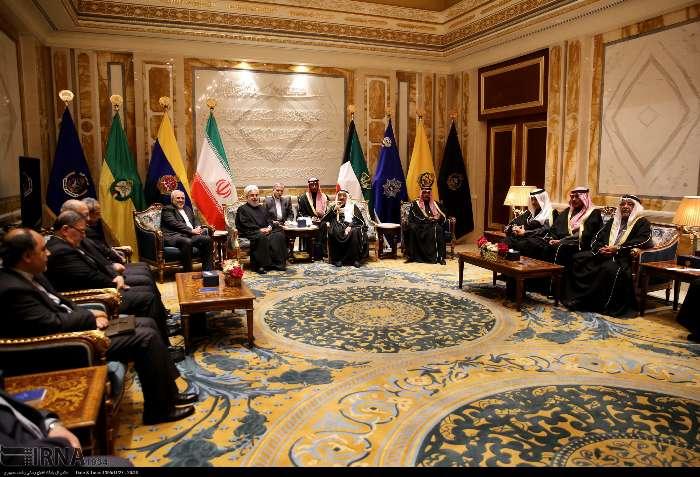 روحانی در دیدار امیر کویت: مذاکره و تفاهم، تنها راه حل مشکلات منطقه است