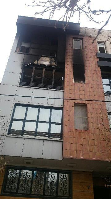 آتشسوزی ساختمان در مشهد/22 کشته و زخمی