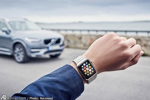 کنترل خودرو از طریق ساعت مچی امکان پذیر شد+تصاویر