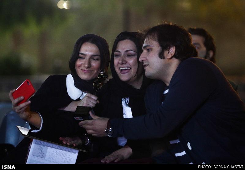 تصاویر/علی مصفا و لیلا حاتمی در جشن عکاسان سینما