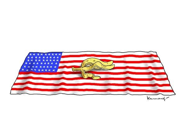 کاریکاتور/ نتیجه انتخاب ترامپ!