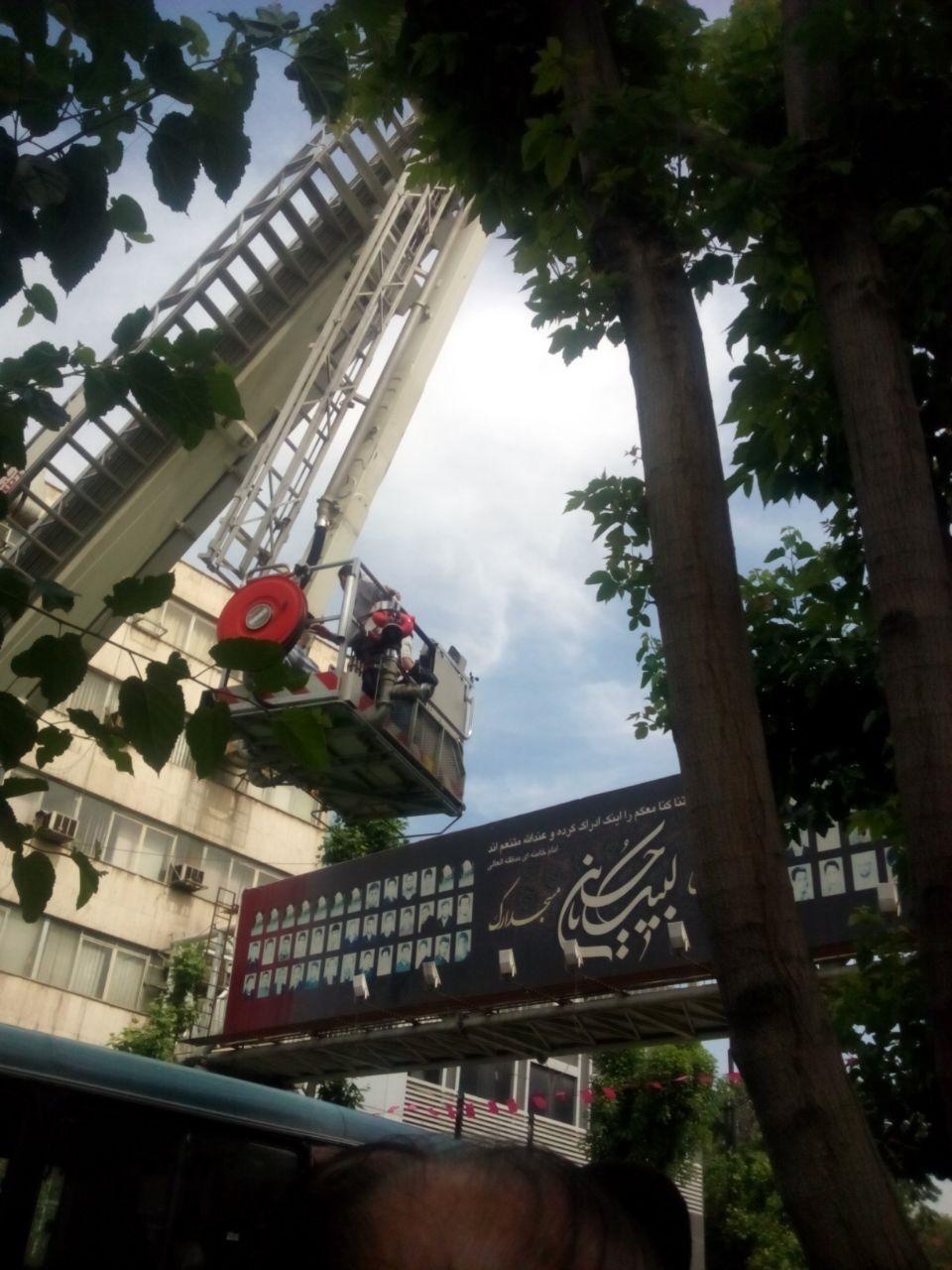 تجاوز ب عابر در خیابان تهران