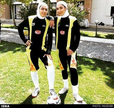 نخستین زن فوتبالیست ایران در لیگ عراق+تصاویر