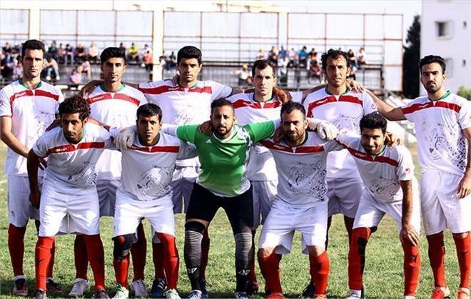 عکس/پیراهن تیم ملی ایران در مسابقات لیگ سه!
