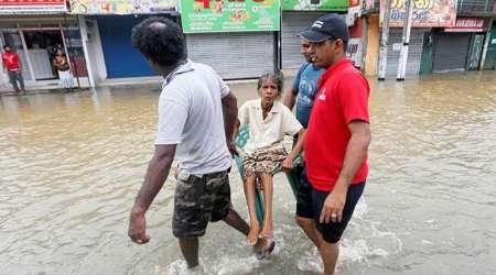 آخرین گزارش از سیل سریلانکا/40 کشته،200 مفقود