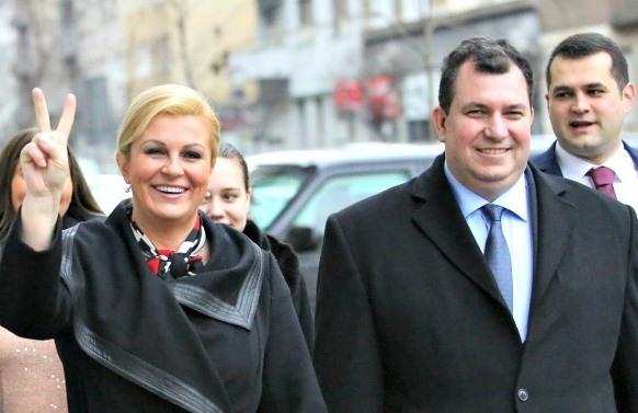 همسر رییسجمهور کرواسی در سفر به تهران کجا بود؟+تصویر