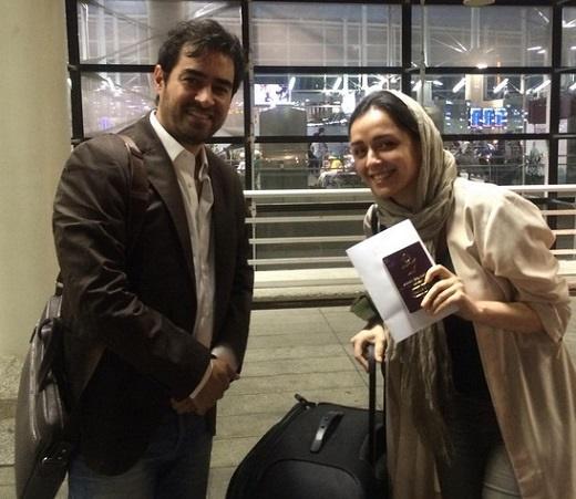 پست اینستاگرامی شهاب حسینی و ترانه علیدوستی از فرودگاه+تصویر