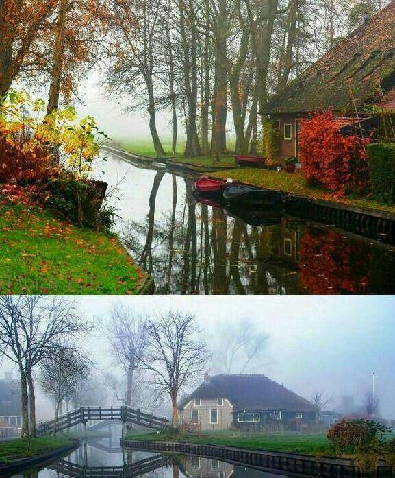 روستایی رویایی در هلند /تصاویر