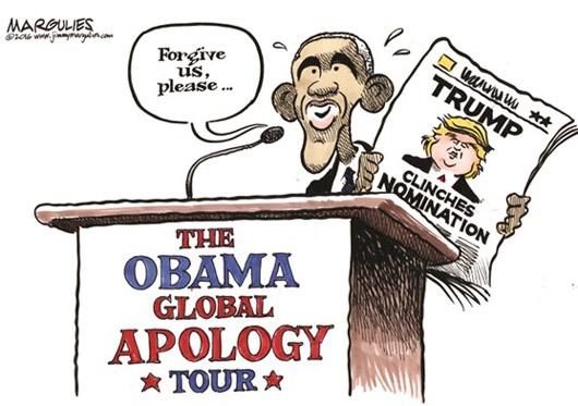 کاریکاتور/ اوباما: واقعا ببخشید!